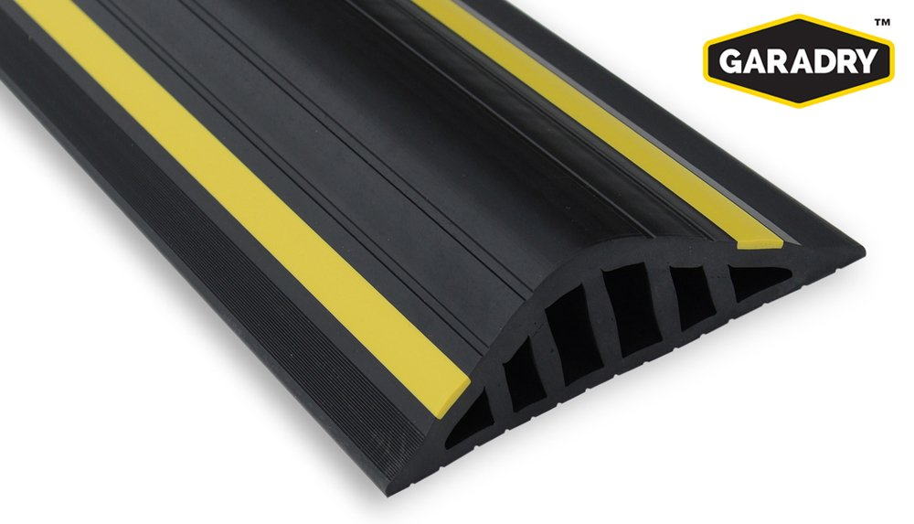 Garage Door Flood Barrier Seal (1 ½in High) 16ft 3in