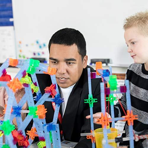 Brackitz STEAM Education Center | STEM Construction Building Block Toy | Sensory Learning Toys for Children PreK-6 | 1224 Pc Set by Brackitz (Image #3)