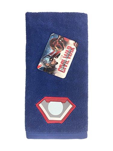 Marvel Captain America Civil War Sides of War Cotton Hand Towel (Best Price For Captain America Civil War)