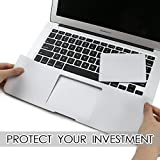 "All-inside 13inch Palm Rest Cover with Trackpad Protector Sticker Skin Silver for MacBook Pro 13.3"" (A1278)"