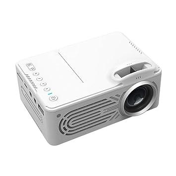 ZUEN Mini proyector película portátil proyector Cine en casa ...