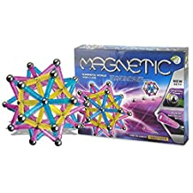 Magnetic Construction Building Pegs and Balls 84 Pieces Building Set