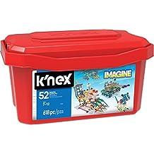 K'NEX – 52 Model Building Set – 618 Pieces – Ages 7+ Engineering Education Toy (Amazon Exclusive)