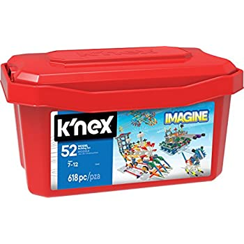 K'NEX – 52 Model Building Set – 618 Pieces – Ages 7+ Engineering Education Toy