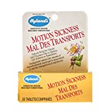 Hyland's Motion Sickness Relief Tablets, Natural Relief of Nausea and Dizziness, 50 Count