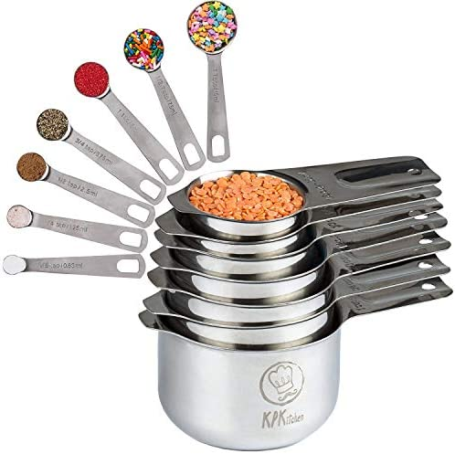 Stainless Steel Measuring Cups Spoons product image