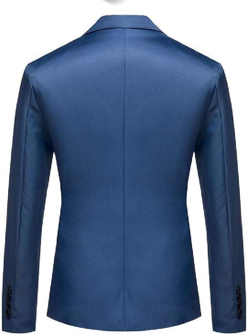 ARTFFEL Mens Business Casual One Button Regular Fit Long Sleeve Sport Coat Blazer Jacket