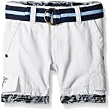 U.S. Polo Assn. Boys' Belted Cargo Twill Short