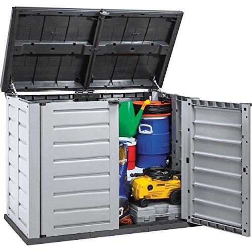 rimax-10004-garden-storage-shed-medium-greyblack