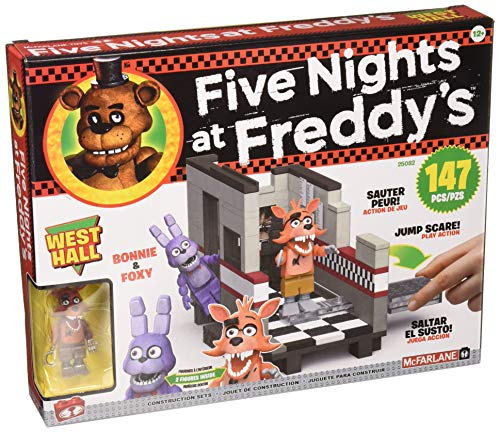 McFarlane Toys Five Nights at Freddy's West Hall Medium Construction Set ()
