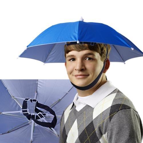 Sombrero Gorro Paraguas Umbrella Cabeza para Deporte: Amazon.es: Deportes y aire libre