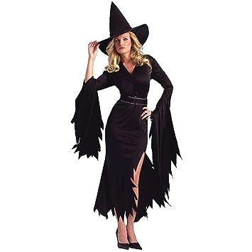Disfraz De Halloween Mujer Adulto Demonio Fantasma Disfraz Capa ...