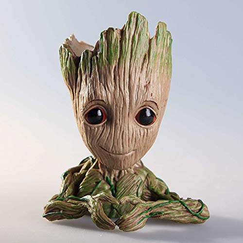 Best Quality - Action & Toy Figures - Tree Man Baby Anime Action Figure Dolls Penholder Guardians of The Galaxy 2 Model Hero Pen Pot and Flower Pot Toys Groot - by ORSTAR - 1 PCs