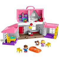 Fisher-Price Little People Big Helpers Home with Emma, Jack & Dog Figures