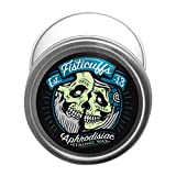 Fisticuffs Strong Hold Mustache Wax Leather/Cedar wood scent 1 OZ. Tin