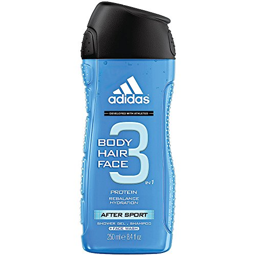 Adidas Gel Shower Gel (Adidas for Men Hair & Body Shower Gel - After Sport (250ml))