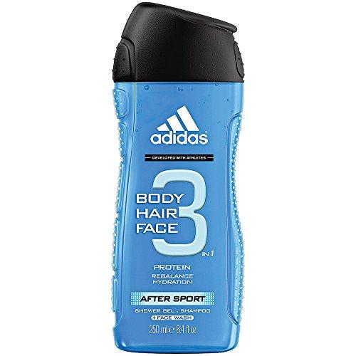 Adidas for Men Hair & Body Shower Gel - After Sport (250ml)