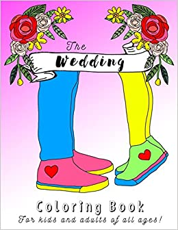 Amazon.com: Wedding Coloring Book for Kids, Teens and Adults ...