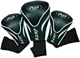 NFL New York Jets 3 Pack Contour Head Covers
