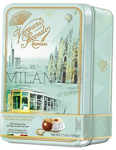 Vergani Secondo Milan Milk Chocolate Pralines 3.52 oz