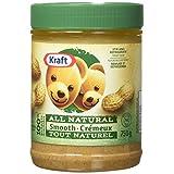 Kraft Only Peanuts Smooth All Natural Peanut Butter, 750G Jar