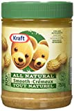 Kraft All Natural Smooth Peanut Butter 750g from Canada