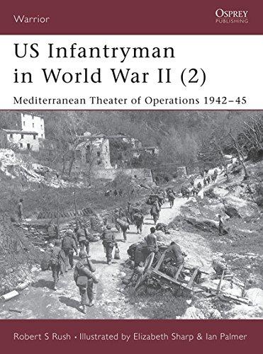 US Infantryman in World War II (2): Mediterranean Theater of Operations 1942–45 (Warrior) PDF