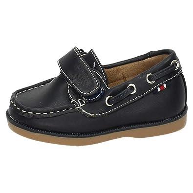DEMAX NS581A-18 Mocasines DE NIÑO NIÑO Zapatos MOCASÍN Marino 22