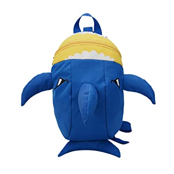 Kids Baby Shark Backpack Cartoon Animal Bag Girls Boys Soft School Bag Children