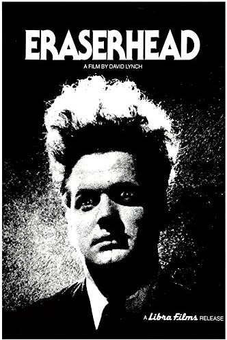 """Amazon.com: Eraserhead (David Lynch) - (24"""" X 36"""") Movie Poster - A Print  with Holographic Sequential Numbering for Authenticity: Posters & Prints"""
