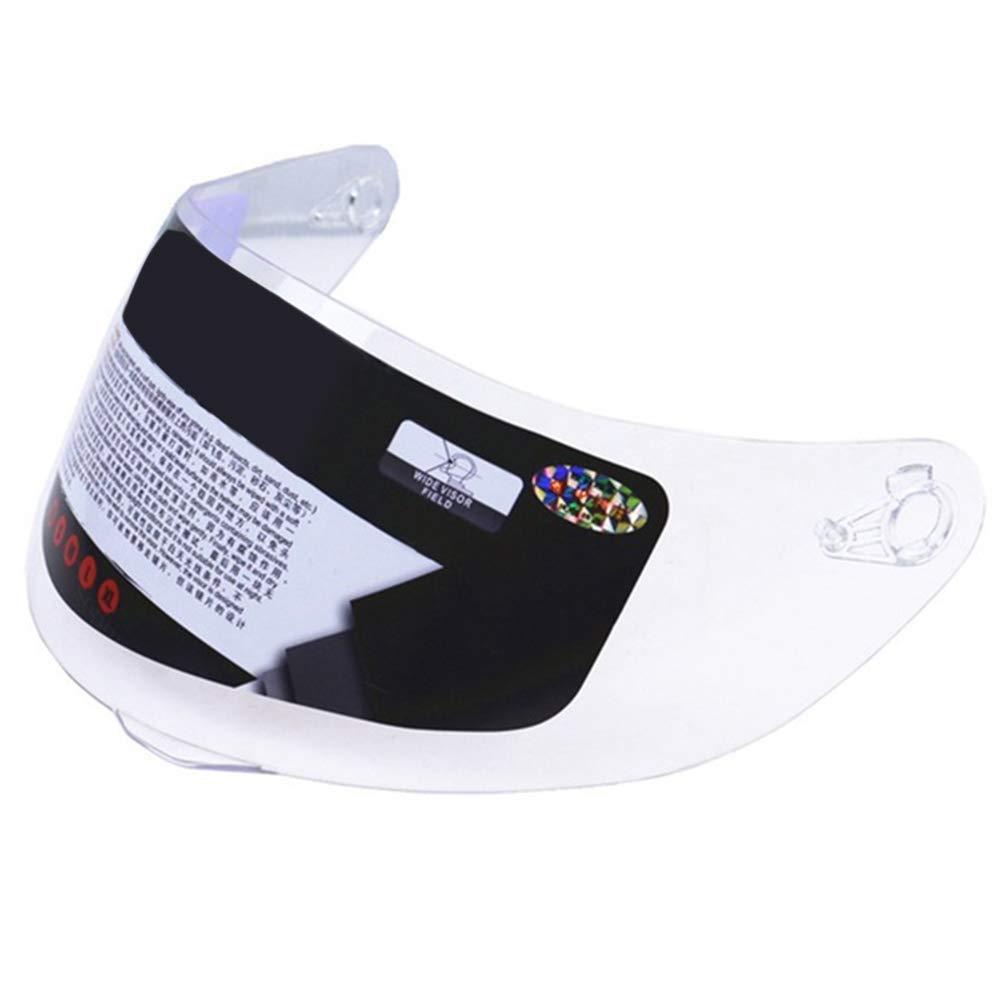 ljym88 Visiera Lavabile per Casco Visiera Integrale Integrale Antivento Accessori universali Pellicola Protettiva AntiGraffio Originale AntiGraffio protetta da UV Trasparente