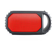 Grace Digital GDI-EGST700 ECOXGEAR ECOSTONE Rugged Waterproof Wireless Bluetooth Speaker - IPX7 Rated (Orange)