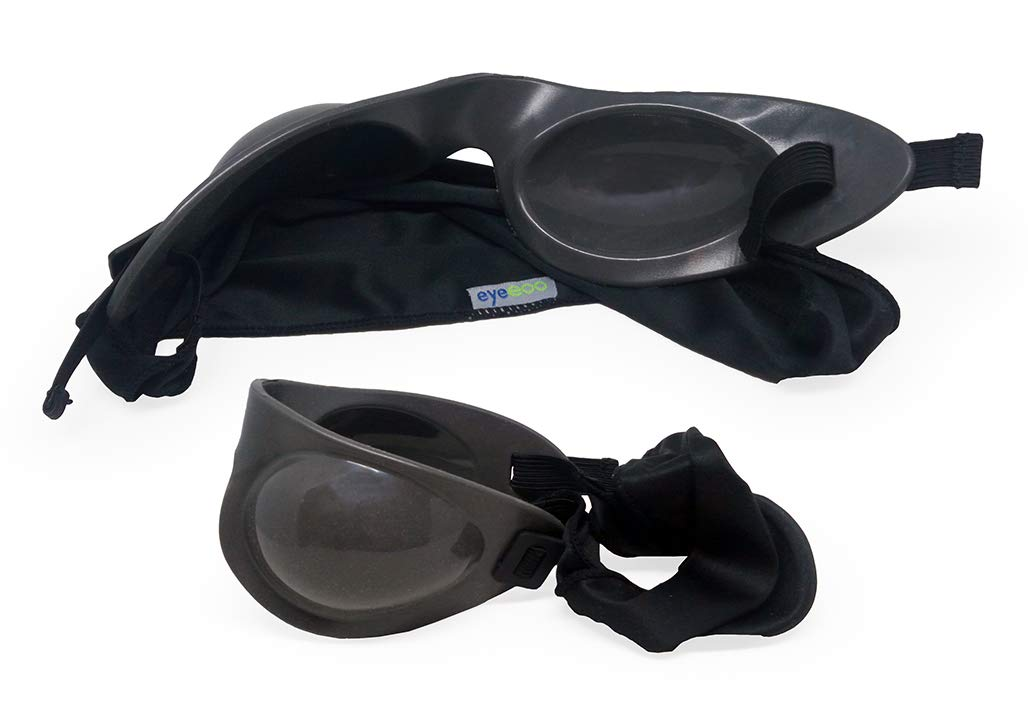 Eyeseals 4.0 Hydrating Sleep Mask Bundle with Soothing Eye Mist for Dry Eyes at Night (Charcoal) by EYEECO (Image #3)