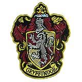 "Arts & Crafts : Harry Potter House of Gryffindor House Hogwarts Crest Patch 4 1/2"""