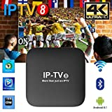 Best Iptv Boxes - 2019 Newest IPTV8 Box Better Faster Then HTV6 Review