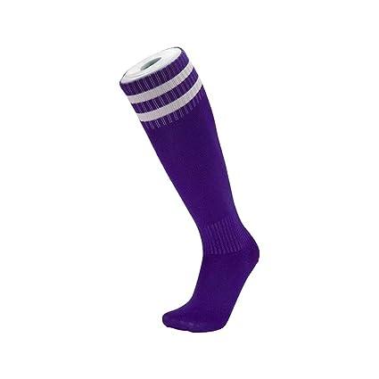 WXMDDN-Calcetines de fútbol/Entrenamiento Calcetines de fútbol/Hombres y Mujeres Adultos Calcetines