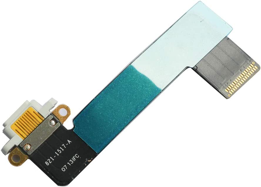 FixCracked Charging Port Flex Cable Replacement for ipad Mini Black