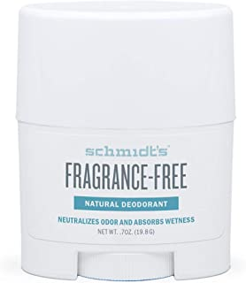 product image for Schmidt's Fragrance-Free Natural Deodorant Stick Travel Size 0.7 Ounce