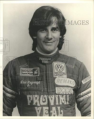 (1984 Press Photo Arie Luyendyk Race Car Driver Wisconsin - mjb24872 - Historic Images)