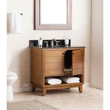 Merveilleux Image Unavailable. Image Not Available For. Color: Southern Enterprises  Ridglea Single Granite Top Bathroom Vanity