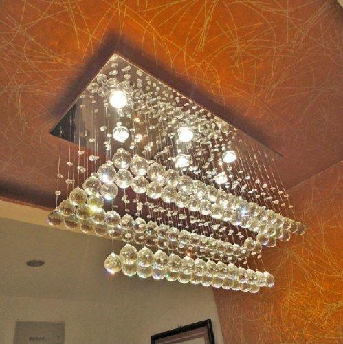 Light 2 Tier Foyer Pendant - 7