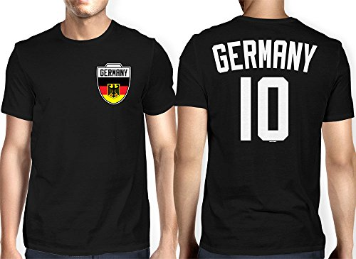 Mens Germany German Football T shirt