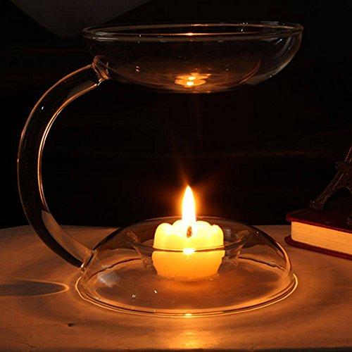 KINGSO Candlestick Warmer Diffuser Tealight