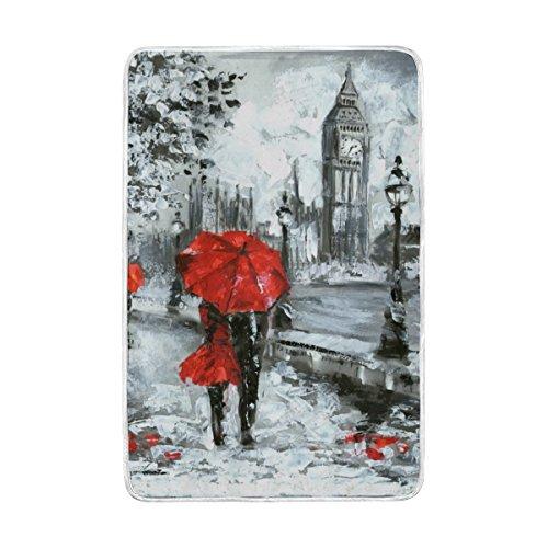 ALAZA Cooper girl Oil Painting London Big Ben