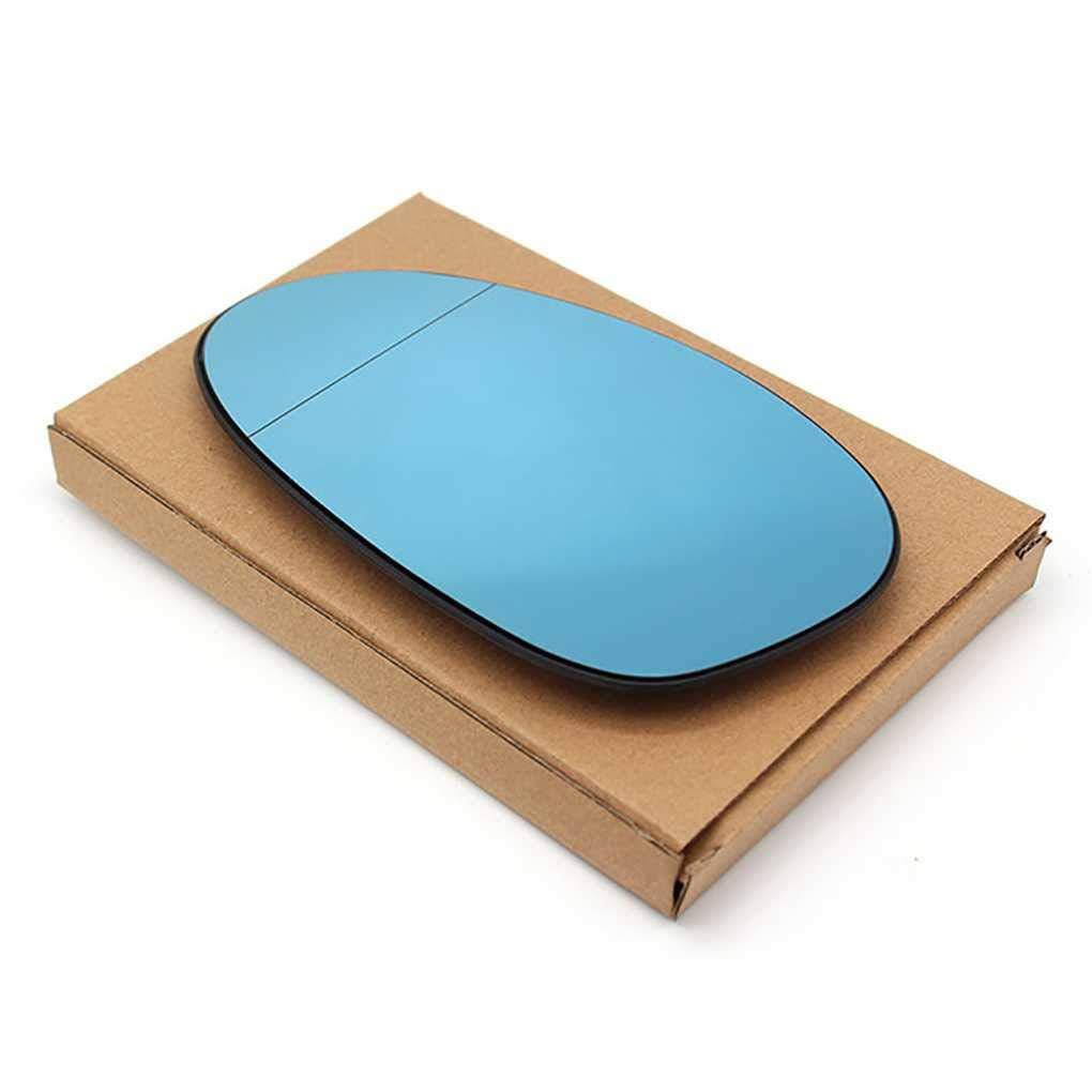 heacker Blue Glass Rearview Mirror Gauche Voitures Side de Remplacement 51167145267 pour BMW E90 2005-2008