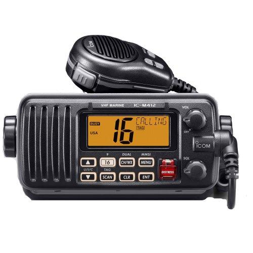 ICOM IC-M412 Marine Radio, VHF, Black Casing primary