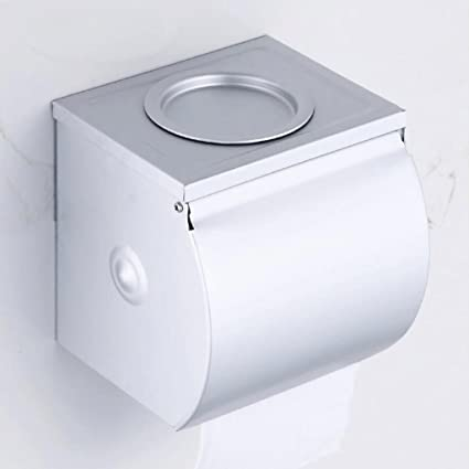 ZHAOJING Papel higiénico Toalla Cartón, Baño Papel higiénico Toallero, Cocina Tocador Papel higiénico Bandeja
