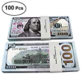 LingsFire Play Money Movie Prop Money Game Realistic Paper Money Toy Money for Students Children School
