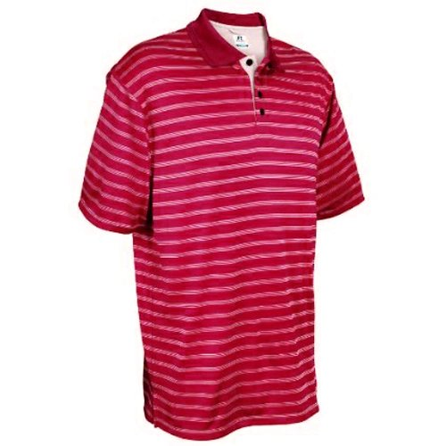 Russell Athletic Mens Dri Power Striped
