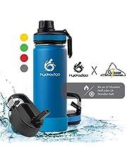 hydro2go ® Trinkflasche aus Edelstahl 500 ml / 0.5 Liter - Limited Edition - Outdoor Sport Freunde